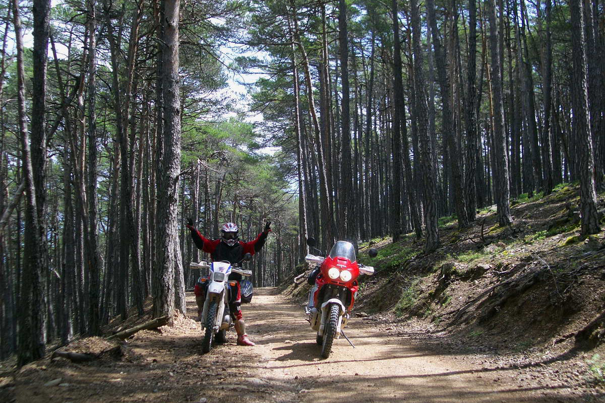 Moto Trail Cerdanya Pirineo