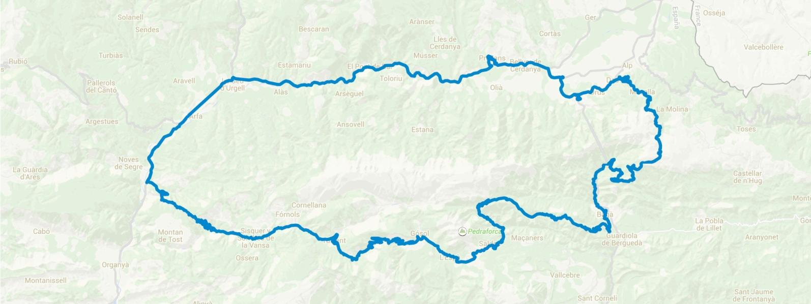 Trail Berguedà: montañas del Cadí y Pedraforca